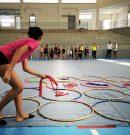 Diego Ojeda cursa visita al 8º Campus de Verano Attenya Telde