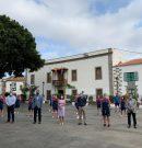El Ayuntamiento brinda un recibimiento a las jugadoras del Preconte Telde, que logró el ascenso a la máxima categoría este sábado